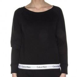 Calvin Klein Modern Cotton Top Sweatshirt - Black
