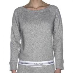 Calvin Klein Modern Cotton Top Sweatshirt - Grey