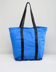 Calvin Klein Packable Shopper Bag in Bright Blue - Blue