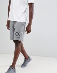 Calvin Klein Performance logo shorts - Grey