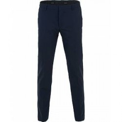 Calvin Klein Pittsburgh Stretch Wool Trousers Deep Ink