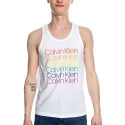 Calvin Klein Pride Lounge Tank - White