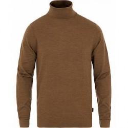 Calvin Klein Sasko Superior Wool Turtleneck Toffee Heather