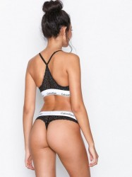 Calvin Klein Underwear Thong G-streng Sort