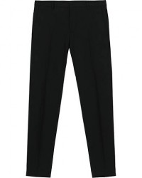 Calvin Klein Wool Stretch Trousers Black men 52 Sort