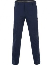 Calvin Klein Wool Stretch Trousers Ink Blue men 54