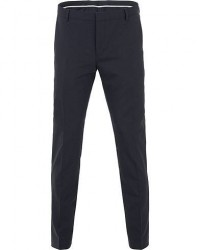 Calvin Klein Wool Stretch Trousers Midnight Navy men 46