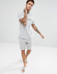 Calvin Klein Woven Lounge Shorts in Regular Fit - Grey