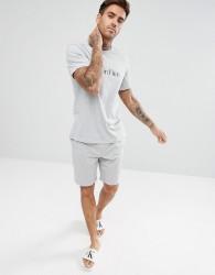 Calvin Klein Woven Lounge Shorts in Regular Fit - Grey
