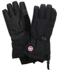 Canada Goose Arctic Down Gloves Black men L Sort