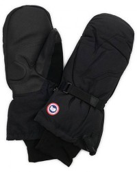 Canada Goose Arctic Down Mittens Black men XL Sort