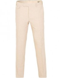 Canali Wool/Linen Trousers Sand
