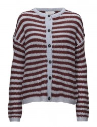 Cardigan In Thin Mohair Knit W. Str