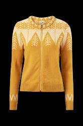 Cardigan Leaf Sweater