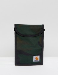 Carhartt WIP Collins Neck Pouch In Camo - Green
