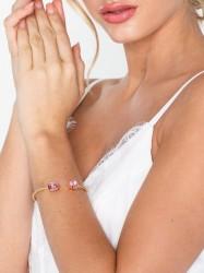 Caroline Svedbom Mini drop bracelet Armbånd Lyserød