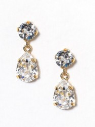 Caroline Svedbom Mini Drop Earring Ørering Crystal