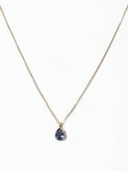 Caroline Svedbom Mini Drop Necklace Halskæde Blå