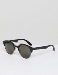 Carrera Round Plastic Sunglasses - Black