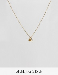 Carrie Elizabeth Initial L Cluster Necklace - Gold
