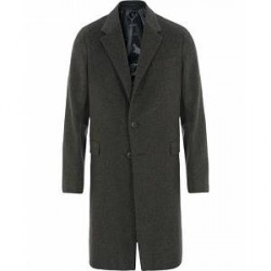 Caruso Wool/Cashmere Coat Grey