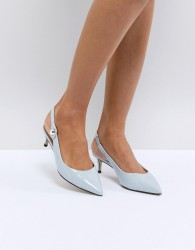 Carvela Kitten Heel Slingback - Blue