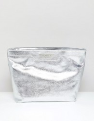 Carvela Large Cosmetic Bag - Silver