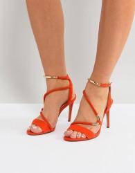 Carvela Orange Strappy Barely There Sandal - Orange