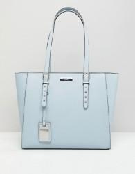 Carvela Sammy Studded Detail Winged Tote Bag - Blue