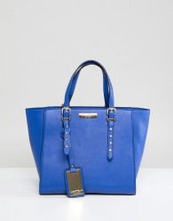 Carvela Small Studded Detail Winged Tote Bag - Blue