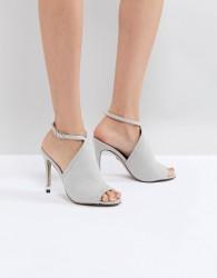 Carvela Strappy Peep Toe Shoe - Grey