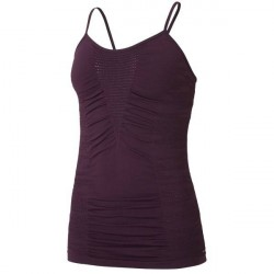 Casall Knitted Brushed Straptank - Plum * Kampagne *