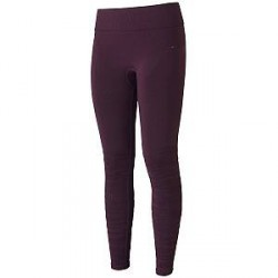 Casall Knitted Brushed Tights - Plum * Kampagne *