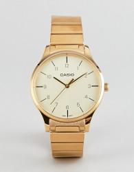 Casio Analogue vintage bracelet watch in gold - Gold
