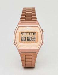 Casio B640WC-1FR Digital Bracelet Watch In Rose Gold - Gold