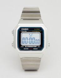 Casio B650WC Digital Bracelet Watch In Silver - Silver