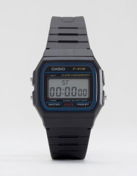 Casio F-91W-1XY classic digital watch - Black