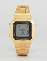 Casio Gold Digital Vintage Style Watch A178WGA-1 - Gold