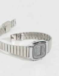 Casio LA670WEA-7EF silver mini digital watch - Silver