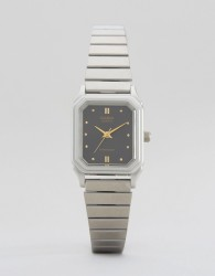 Casio LQ-400D-1AEF vintage style watch - Silver