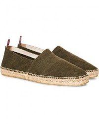 Castañer Pablo Washed Canvas Espadrilles Verde Musgo men 41 Grøn