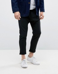 Casual Friday Chinos In Straight Leg - Black