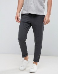 Casual Friday Pleated Front Trousers - Grey
