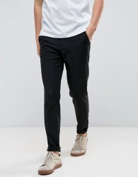 Casual Friday Slim Fit Trousers - Black