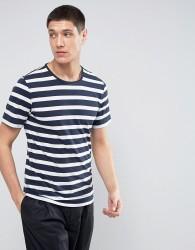 Casual Friday Stripe T-Shirt - Navy