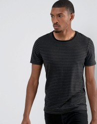 Casual Friday T-Shirt In Stripe - Green