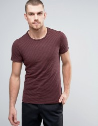 Casual Friday T-Shirt In Stripe - Red