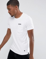 Casual Friday T-Shirt With Patch - White