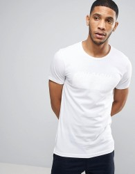 Casual Friday T-Shirt With Tonal CPH Print - White