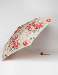 Cath Kidston Minilite 2 Winter Rose Oat Umbrella - Multi